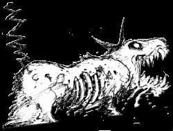 Zombie Dog Franken